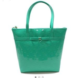 Kate Spade Camellia Jeralyn Tote Bright Green